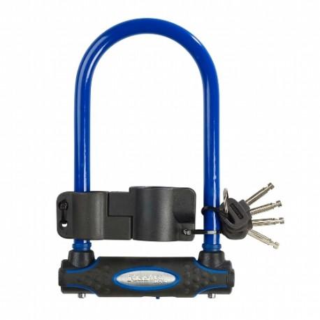 Bügelschloss Radschloss Farbe blau