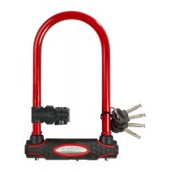 Bügelschloss Radschloss Farbe rot