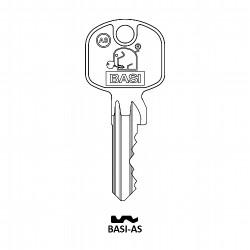 Ersatzzylinderschlüssel für alle Profilzylinder Gleichschließend