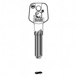 Zusatzschlüssel für Doppelzylinder gleichschliessend